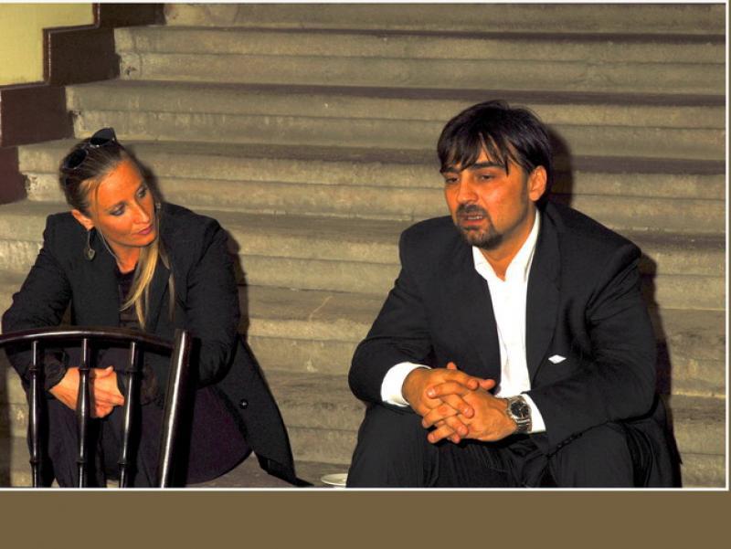 Rita Farago e Gianni Annoni